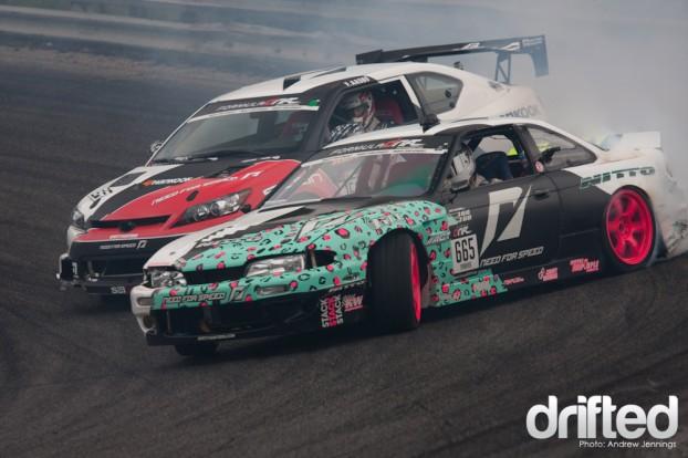 Matt Powers and Fredric Aasbo Tandem Drift