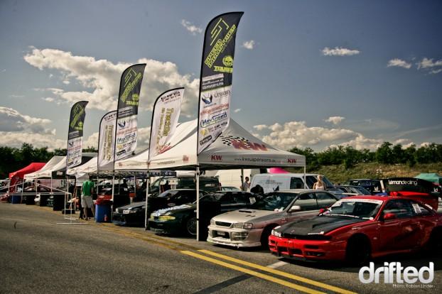 """Team Speedindustries in at the racetrack """"Anneau du Rhin"""""""