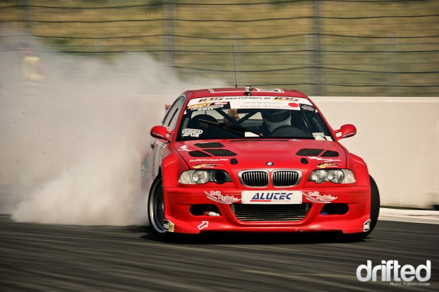 Drifting BMW E46
