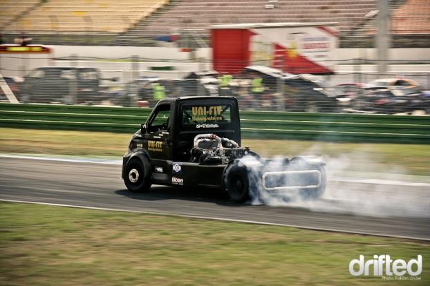 Drifting Truck Iveco Hockenheim