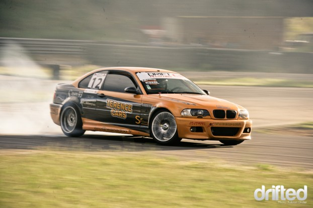 Laurent Cousin in his E46 was also in the Top-16