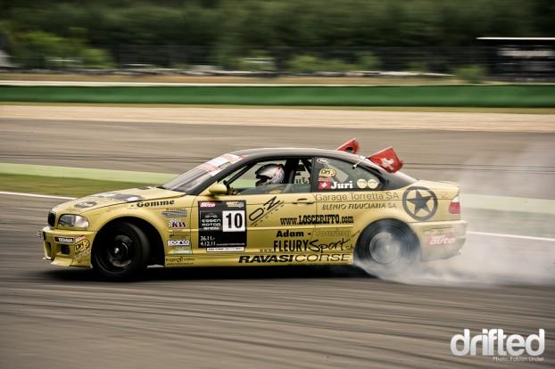 Juri Bianchi BMW M3 Hockenheim Drift