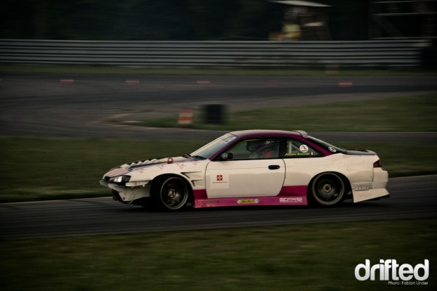 Jerome Bucamp had also problems with his 2JZ S14