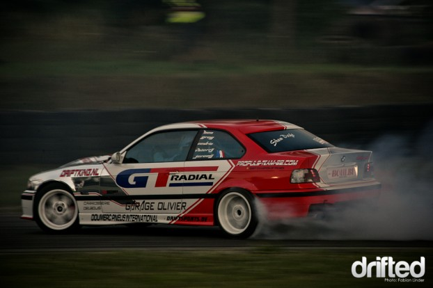 Benjamin Boulbes is the champion of the French Drift Series 2010, he´s really a skilled driver