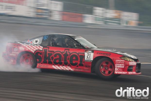 Toshiki Yoshioka Nissan 240sx