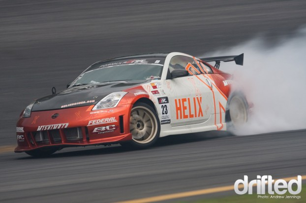 Matt Waldin Helix Energy Nissan 350Z