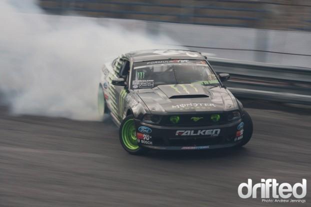Vaughn Gittin Jr. Falken Tire Ford Mustang