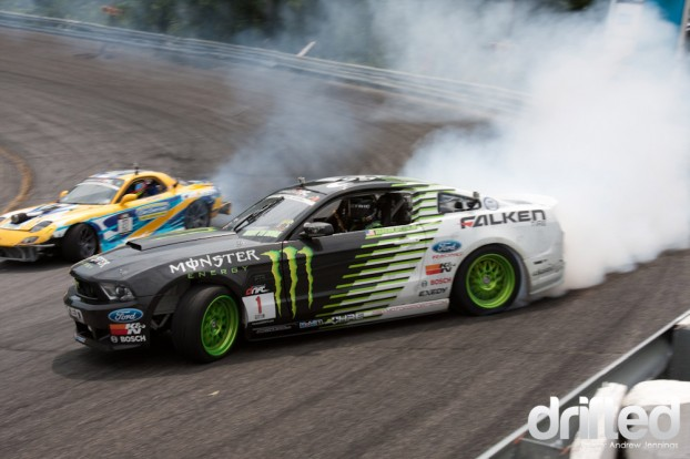 Vaughn Gittin Jr. vs. Jim Guthrie