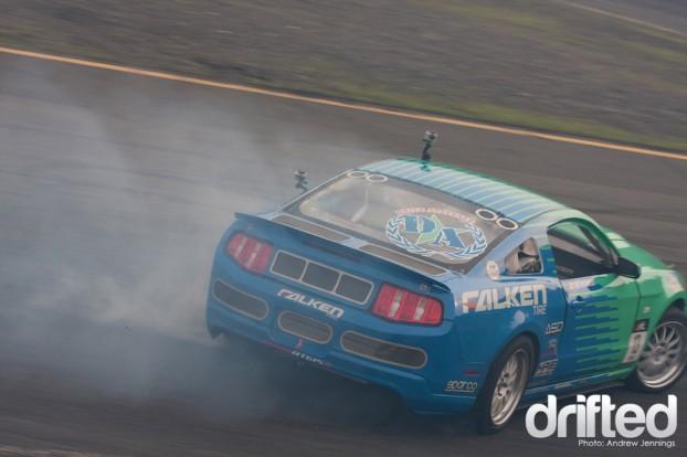 Justin Pawlak Falken Tire Ford Mustang