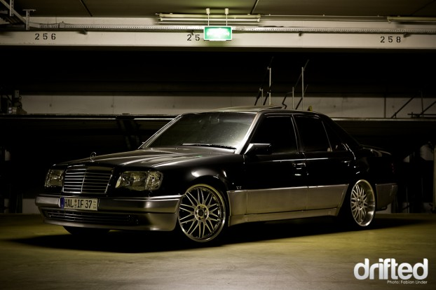 Mercedes 500E V8 by Jens