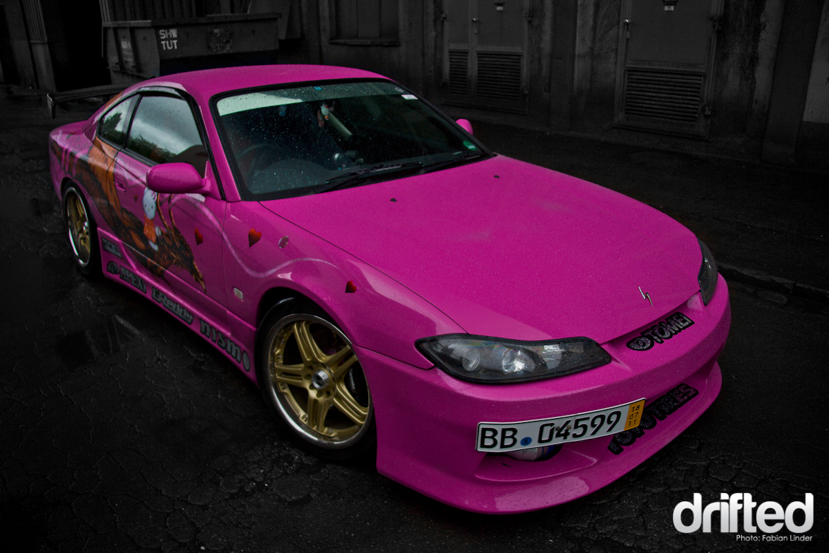 Nissan 200SX S15 Hello Drift Kitty