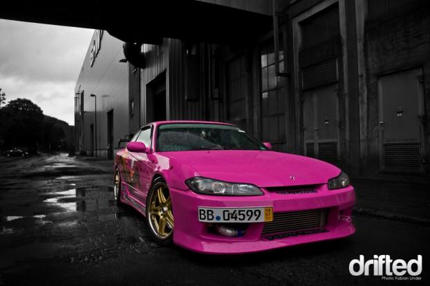 Nissan 200SX Silvia S15 Hello Drift Kitty
