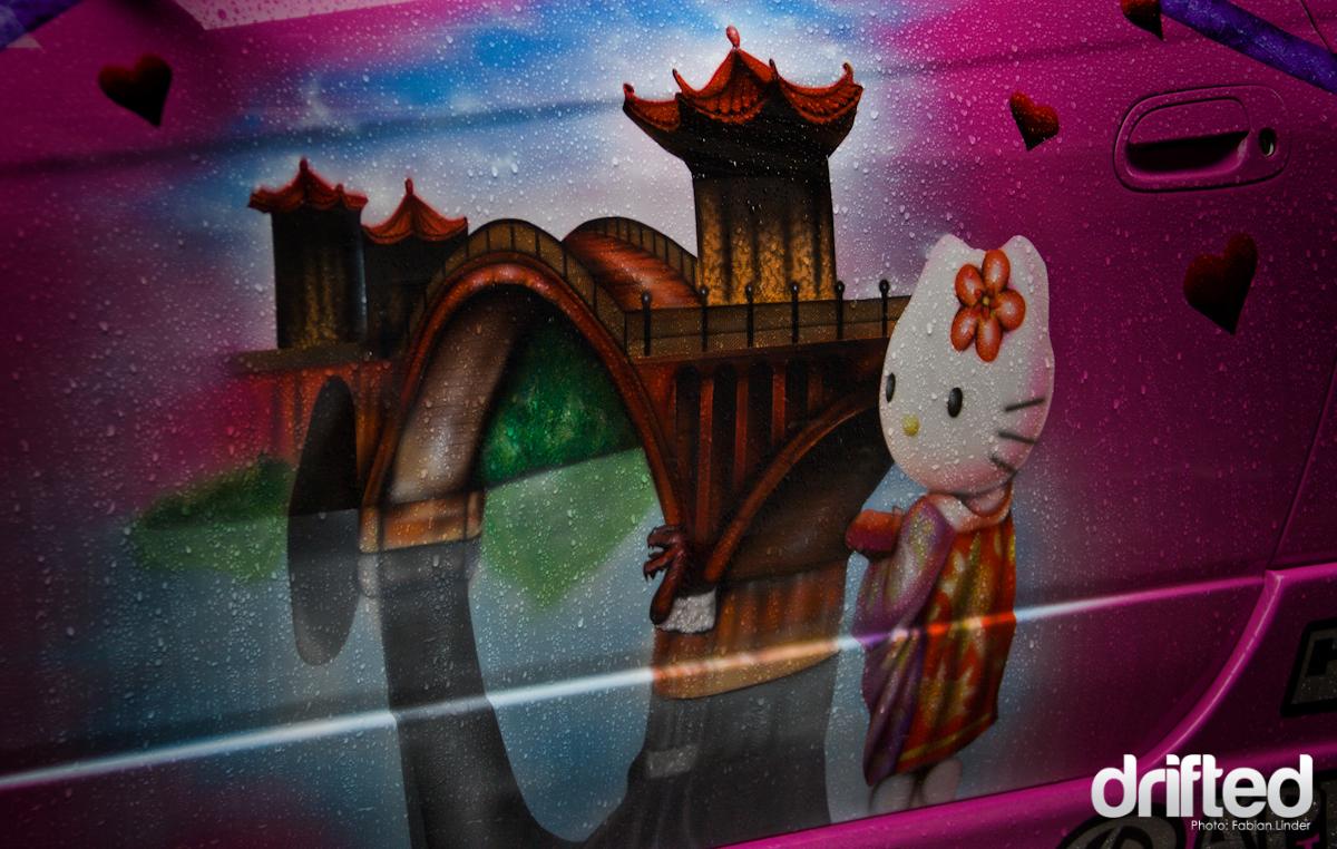 Another Hello Kitty on the door