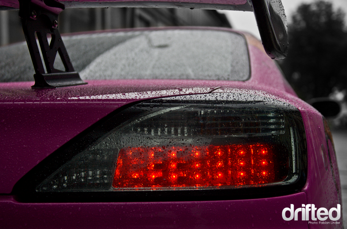 The Yashio Factory taillights are modern and classy