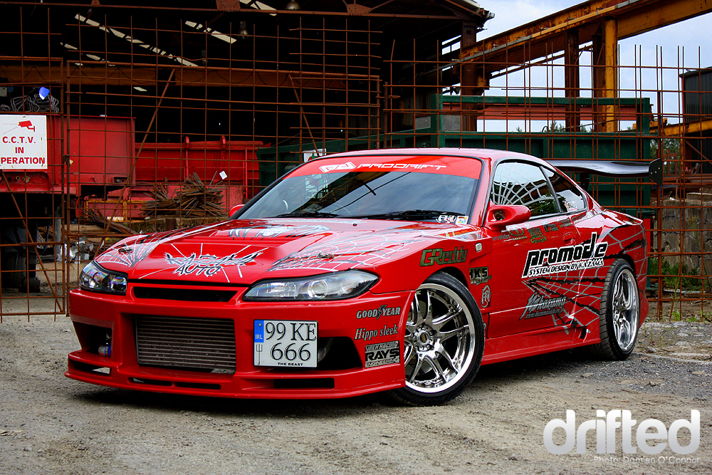 Drift Car Kazama Silvia Drifted Com