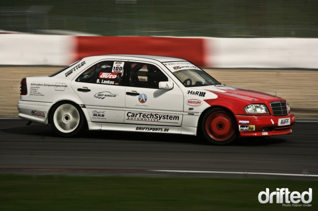 Bianca Lankes in her W202 AMG