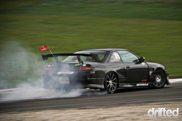 "This sweet S14A belonged to Jacob Hagemann, husband of ""Supra Sara"", he sold it to a friend"