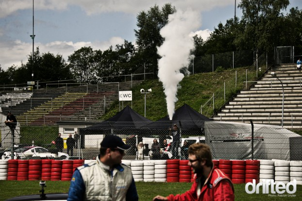 The danish guys celebrated their second place with the misuse of a fire extinguisher