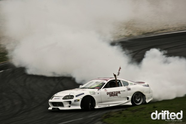 Another impressive cloud produced by the Supra