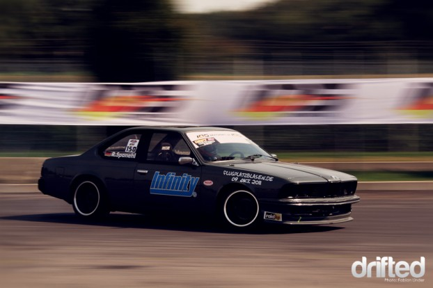 Ralf Spandehl brought by far the meanest drift car I´ve ever seen