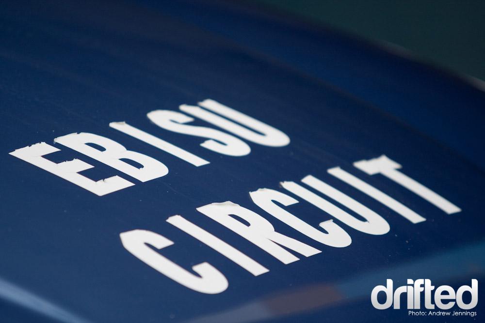 Ebisu Circuit From Hood of Honda Civic EG