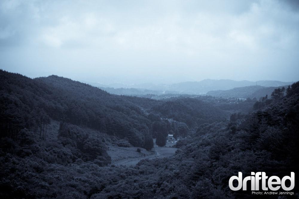 Mountain View from Ebisu Circuit