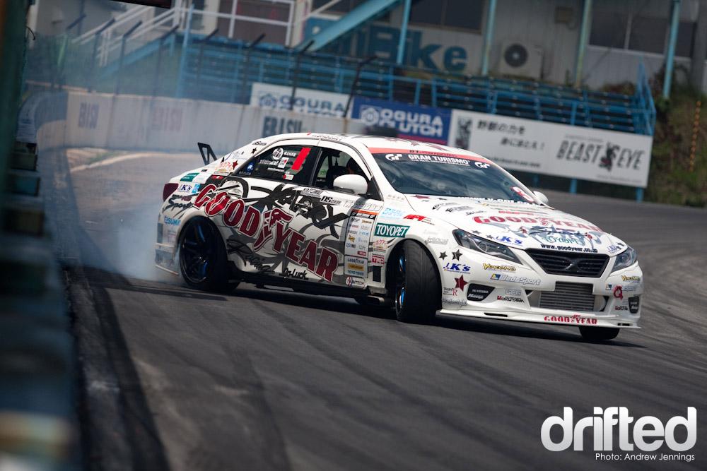 Kuniaki Takahashi Mark X Drift
