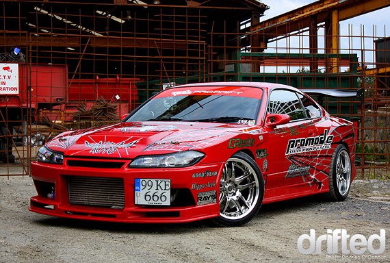 DRIFT CAR: Kazama Silvia S15