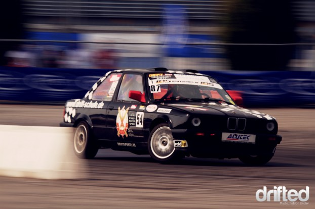 """a """"normal"""" E30 participated in the Street class"""