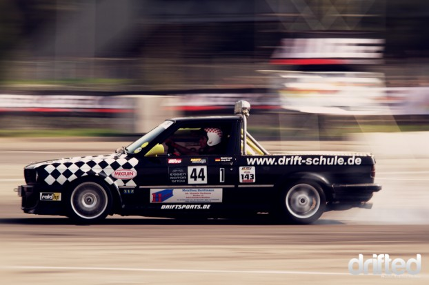 Driftteam Jörg and Dimi with their E30 Pick up and...