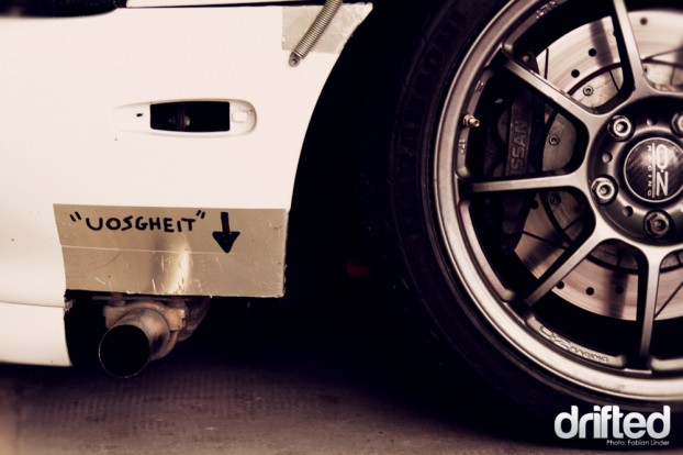 """Judge Nicolo broght his own S14 to the event, to exhibit it... seems like italians have spelling problems, it´s a """"wastegate"""""""