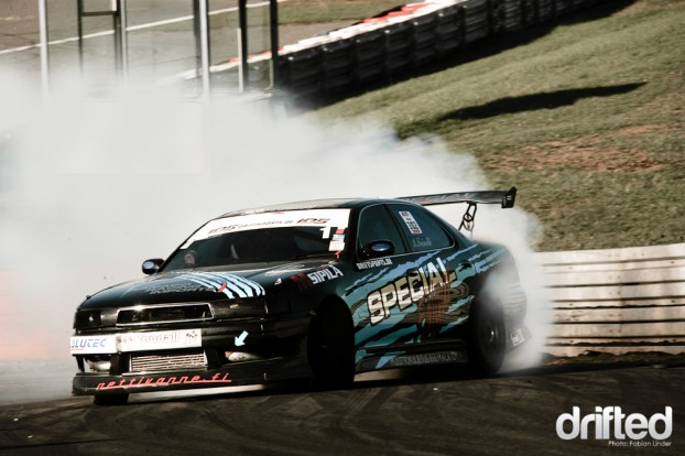 Ismo Teinilä has a Toyota Cresta with a almighty 2JZ under the bonnet