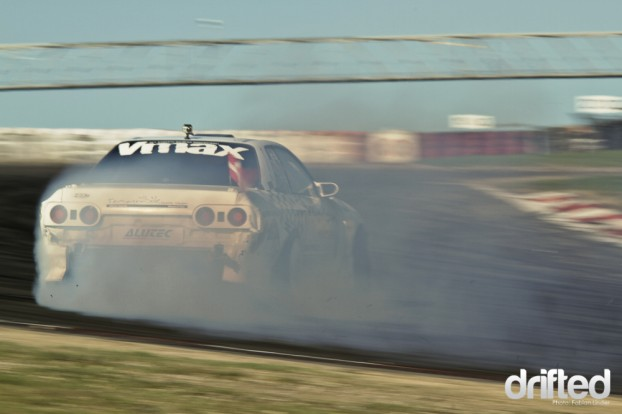 """Vmax! Formula D driver """"Fast Kenny"""" Moen recently mentioned that this track was the fastest he has ever been"""