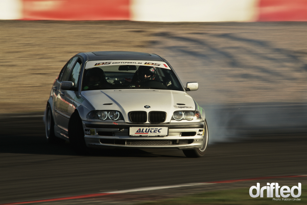 "Winner of the IDS Street class 2011: Markus ""the drifthunter"" Müller in his E46 330"