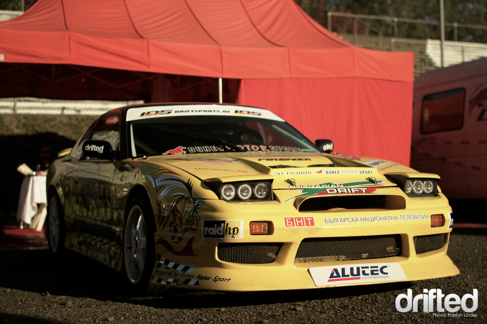Another nice Nissan project: Todor Dunev from bulgary stopped at the ring, he participated this year in the KoE series and the JDM Allstars
