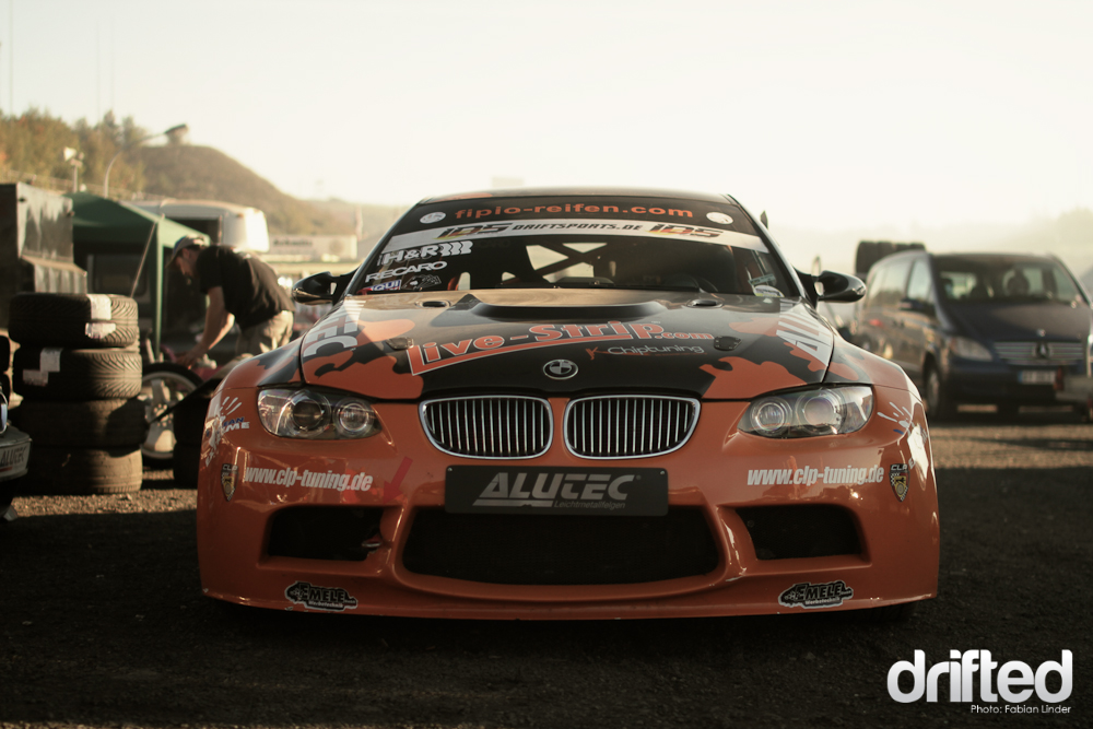 Also well known: Alex Gräff with his E92 monster