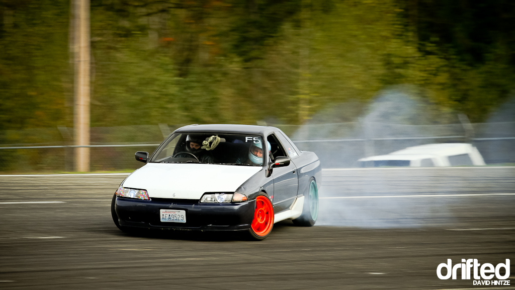 Evergreen Speedway Halloween Bash Drift Event