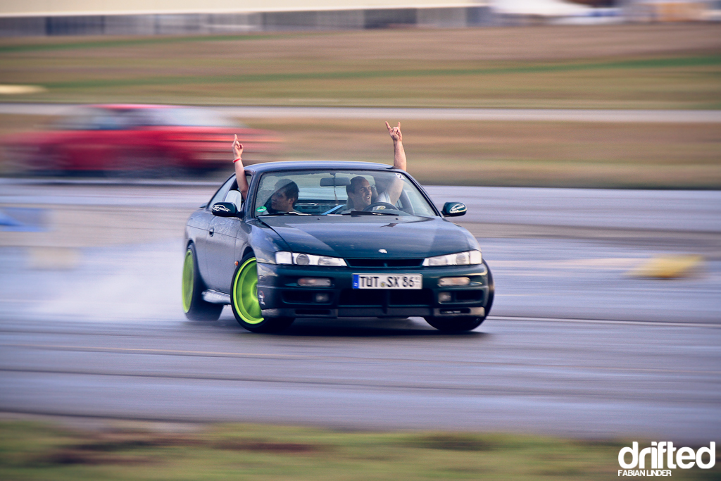 For Milosch drifting is all about having fun