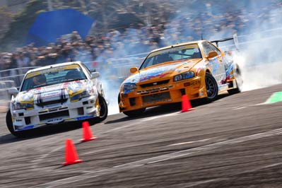 EVENT: D1GP 2012 Kickoff at Tokyo Auto Salon: Part II