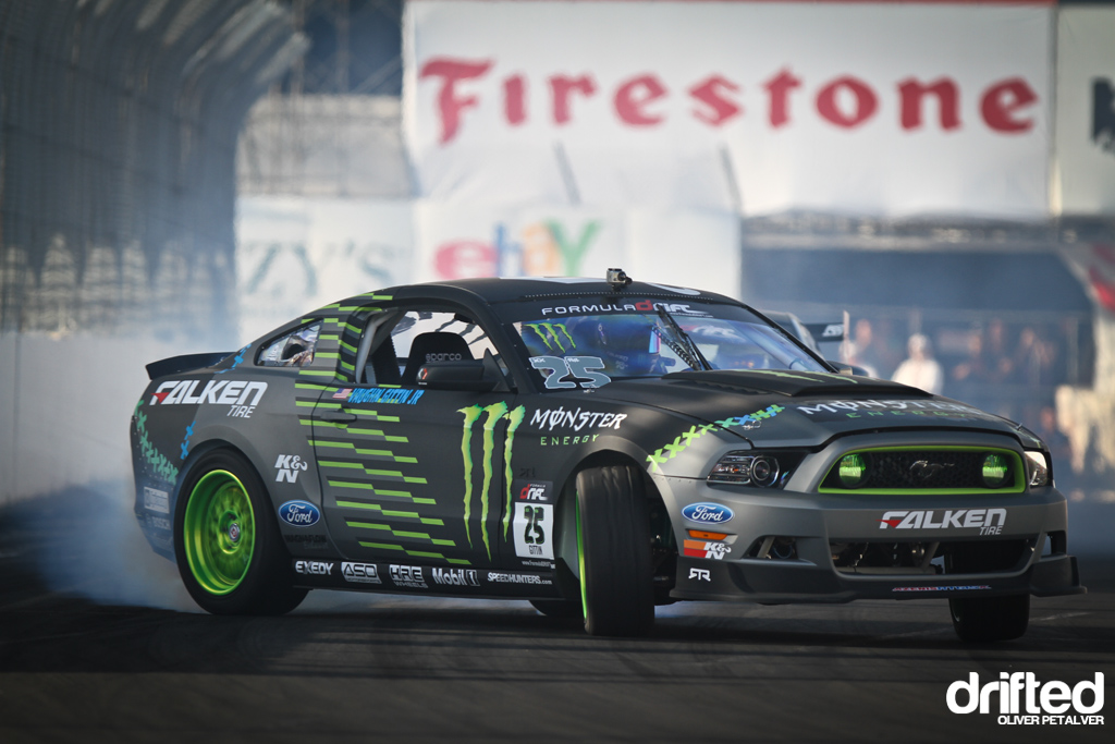 Monster Energy Ford Mustang Vaughn Gittin Jr Drifted Com