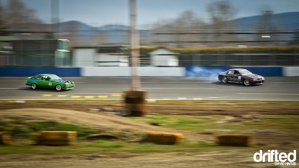 Kelly thorpe Evergreen Speedway nissan fest