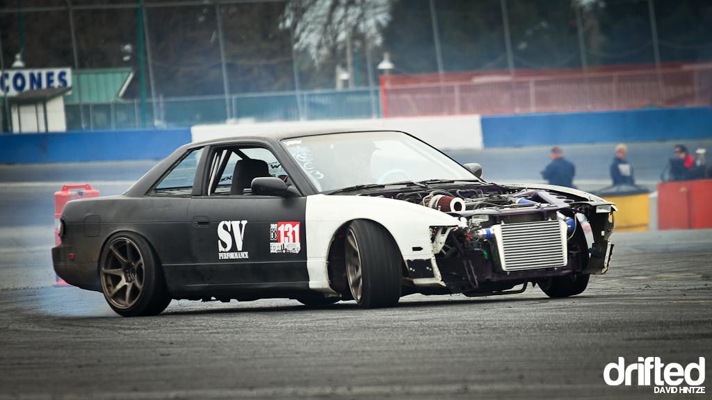 Evergreen Speedway nissan fest
