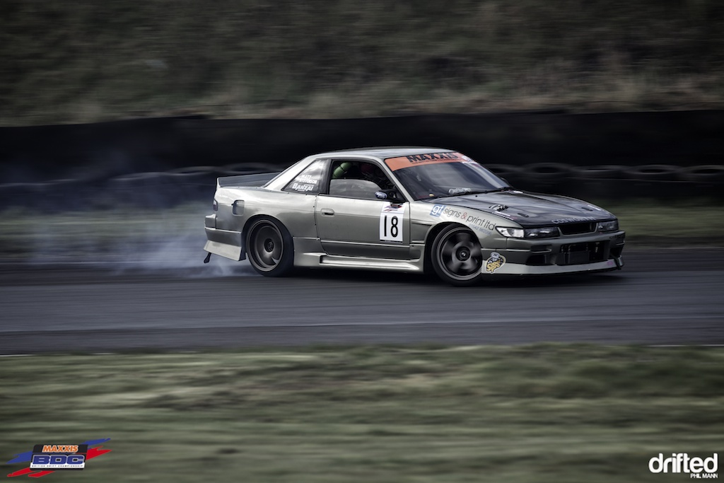 Matty's Supercharged V8 Nissan PS13 at BDC Teesside