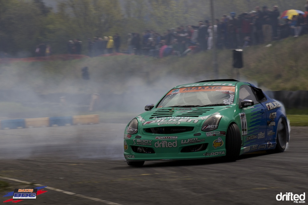 Team Falken's Paul Cheshire at BDC Teesside 2012