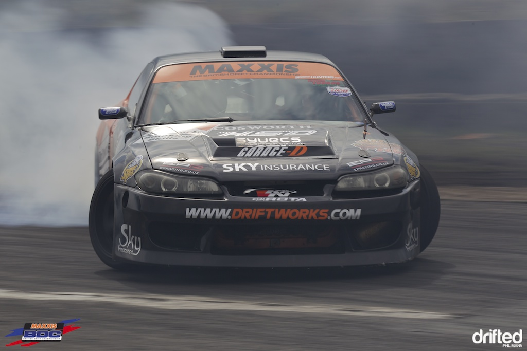 Driftworks S15 at BDC Teesside