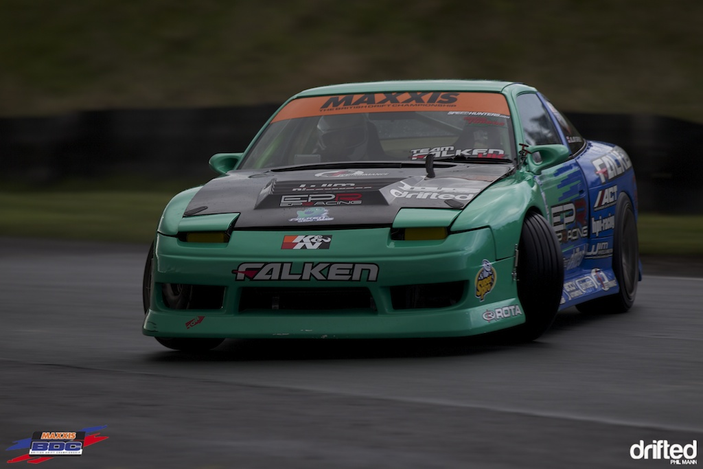 Team Falken's Alan Green at BDC Teesside