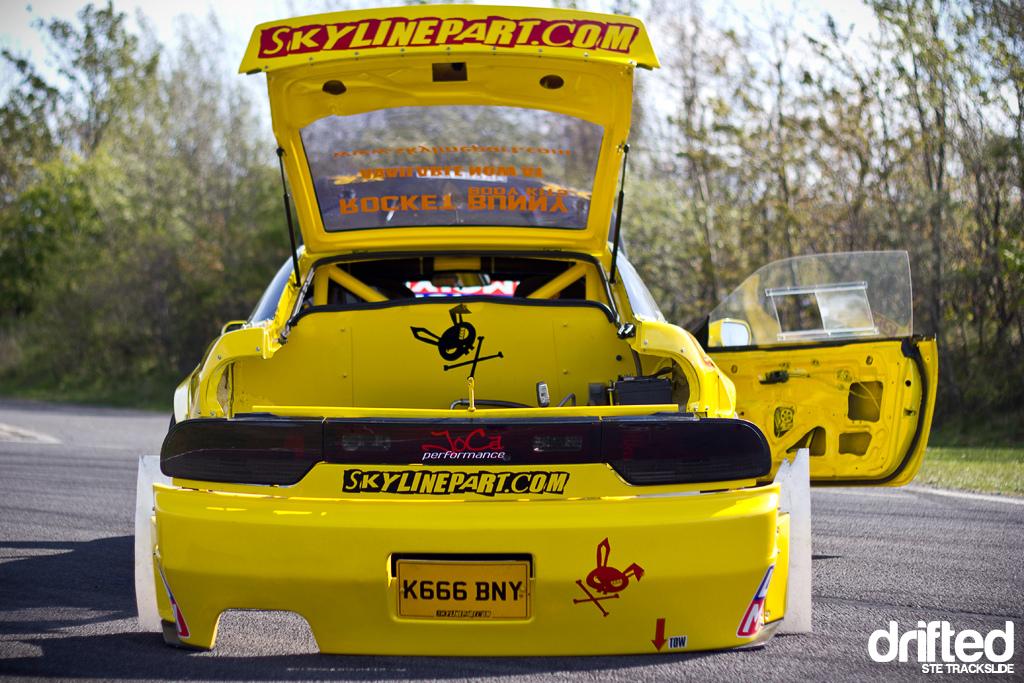 Scotty RocketBunny Tra Kyoto 6666 S13 PS13