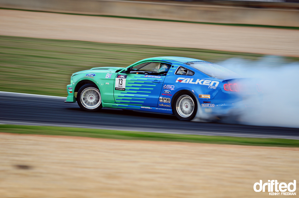 Justin Pawlak Team Falken Tire Ford Mustang