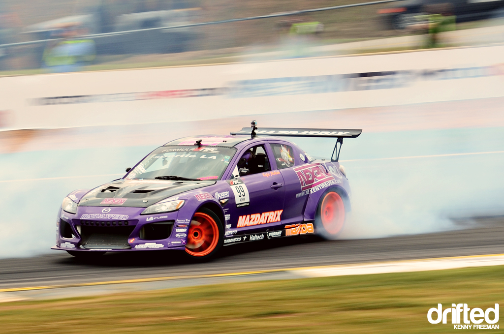 Kyle Mohan Nexan Tire Mazda RX-8 drift