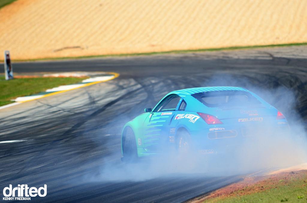 Darren McNamara Falken Tire Nissan 350Z drift